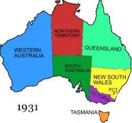 Map Of Australian States by Territorial Evolution Of Australia Wikipedia