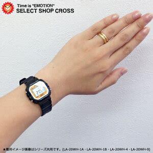 Casio La20wh 4a 楽天市場 カシオ casio レディース 腕時計 デジタル スタンダード la 20wh 4a ピンク ブラック