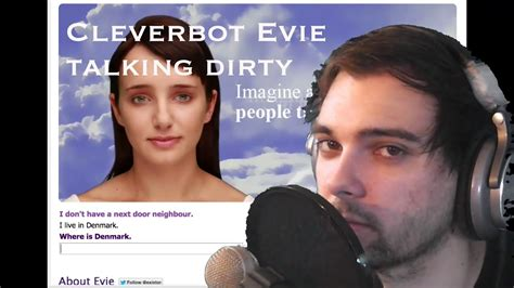 cleverbot evie conversations cleverbot evie existor i m
