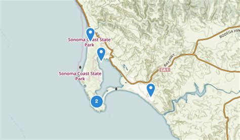 california map bodega bay best trails near bodega bay california alltrails