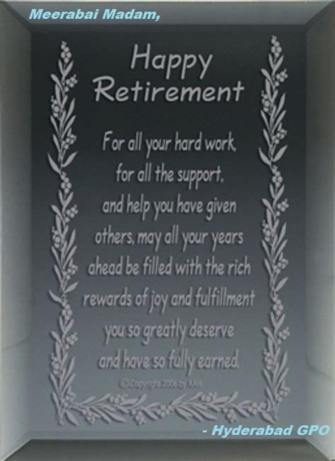 Retirement Messages For Coworkers by Happy Retirement Wishes For Coworker Messages Pictures