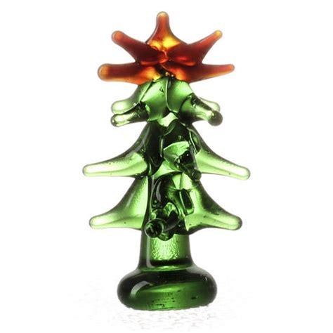 miniature glass christmas tree christmas miniatures