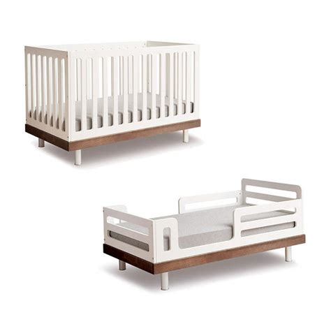 Crib To Bed Furniture Modern Nursery Classic Toddler Bed Conversion Kit Oeuf