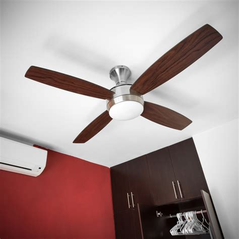 Hanging A Ceiling Fan With Light Electrical Lighting Installing A Ceiling Fan On The House
