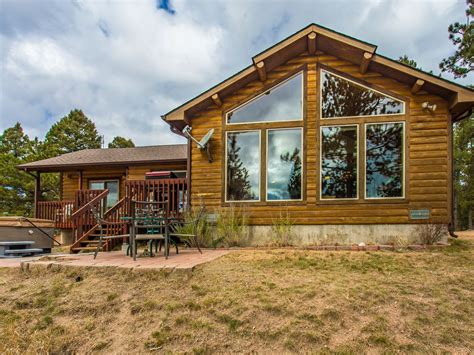 secluded mountain cabin pikes peak view vrbo
