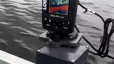 boat depth finder not working lowrance elite 4x hdi fish finder portable install on
