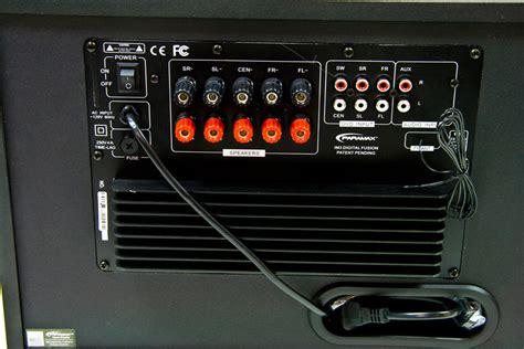 paramax im3 digital 5 1 surround sound home theater