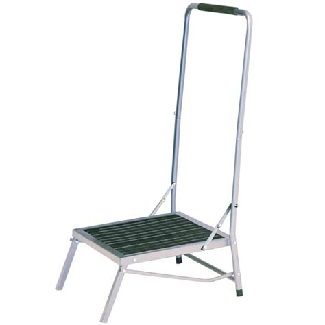 Wide Folding Step Stool With Handle by Wide Folding Foot Stool With Handle Ebay