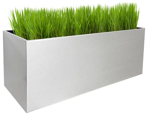 madeira rectangle planter indoor pots and