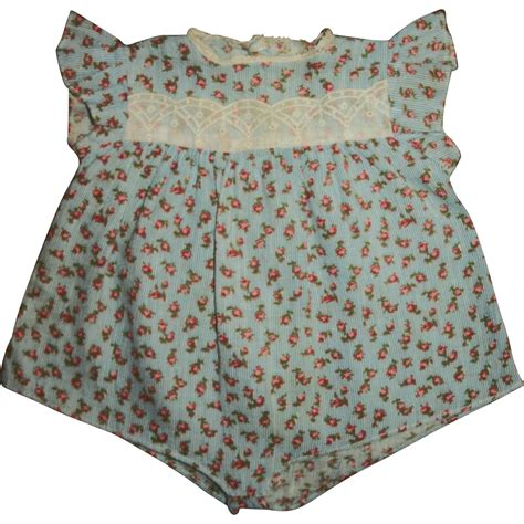 Romper Baby Romper Sweet Mo vintage sweet tiny rosebud print romper for your baby doll from momos on ruby