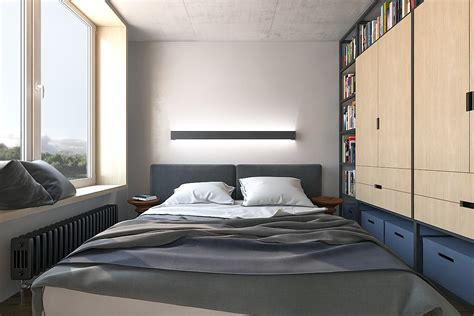 Small Apartment Bedroom Ideas 5 Small Studio Apartments With Beautiful Design