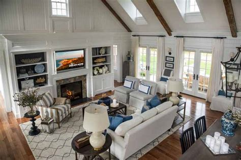 Hgtv Home 2015 Great Room Tour The Martha S Vineyard Hgtv Home 2015
