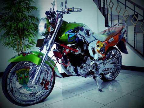 Modifikasi Mega Pro by Kumpulan Foto Modifikasi Motor Honda Megapro Terbaru