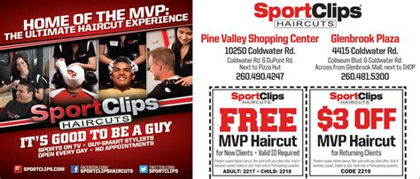 mvp haircuts coupons 5 nice sports clips hairstyles harvardsol com