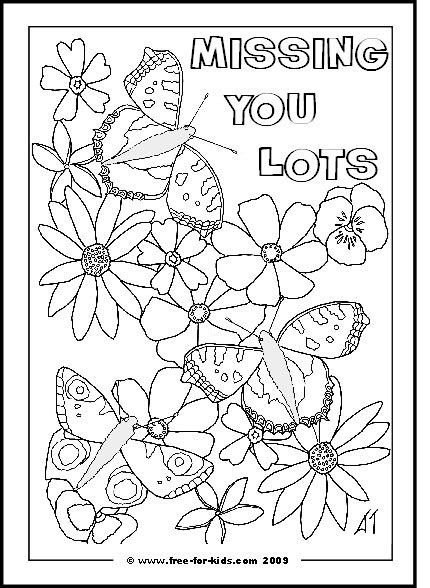 we will miss you coloring pages az coloring pages