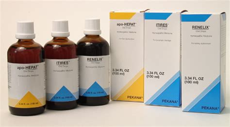 Detox Kit Homeopathic Medication by Pekana Homeopathic Spageric Remedies For Detoxification