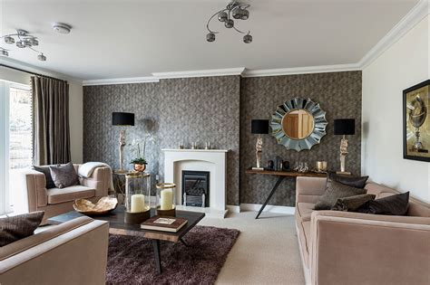 uk home interiors new show home showcases work of renowned interior stylist