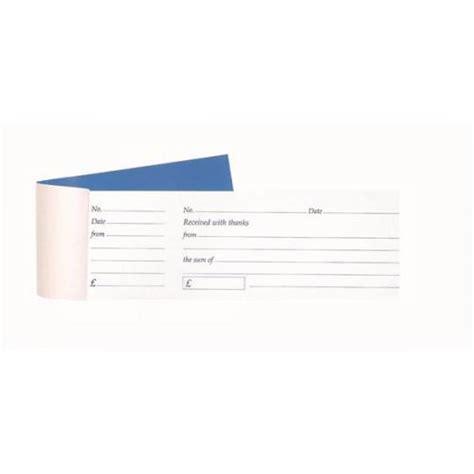 80 297 roll paper receipt templates receipt book with 80 tear receipts 235 7556