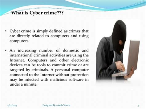 Asis Verma cyber crime ppt