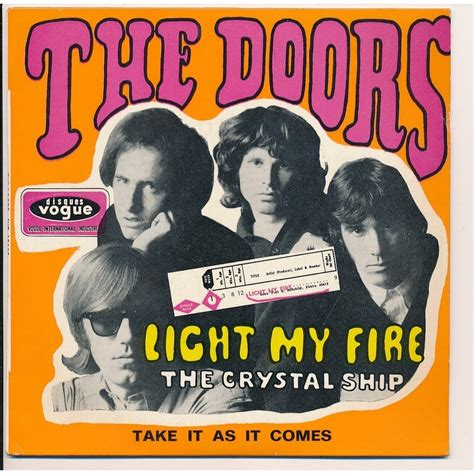 the doors light my fire light my fire by the doors 7inch ep x 2 with lapin