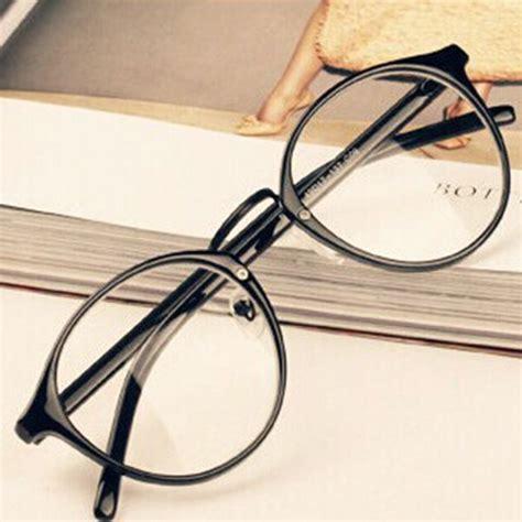 mens womens glasses clear lens eyewear unisex retro
