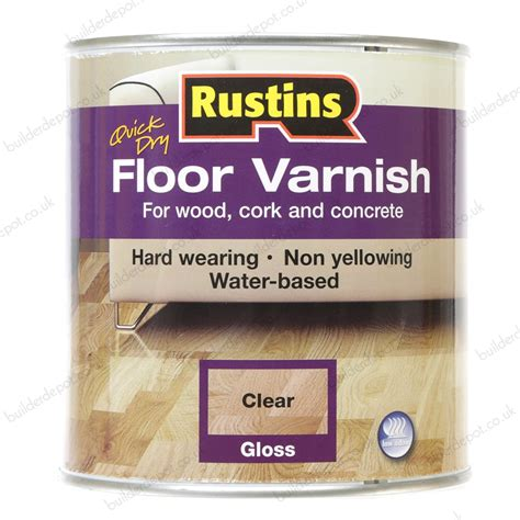 Rustins Acrylic Gloss Clear Floor Coating 1l