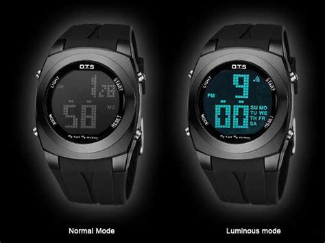 ots original creative large number style relojes sport
