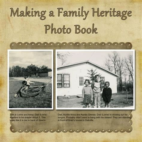 layout for genealogy book how to make a family heritage genealogy photo book with