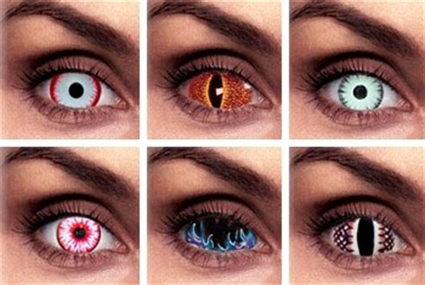 be aware of the dangers of cosmetic contact lenses this