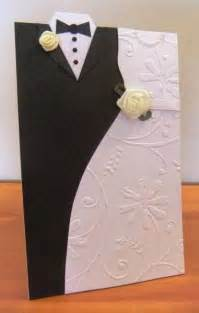 creative wedding day and groom dress up greeting cards interestings