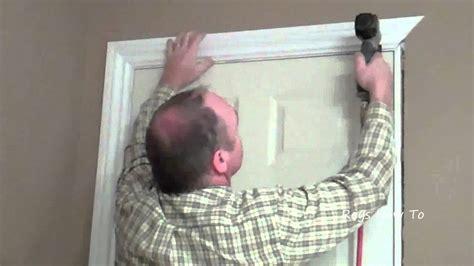 install door casing video youtube