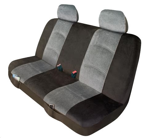 universal bench seat cover elegant usa universal bench seat cover micro tweed greay