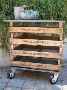 Time for treasures vintage wooden crate ideas