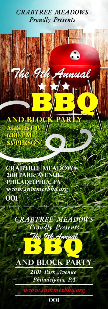 bbq tickets template bbq tickets template iranport pw