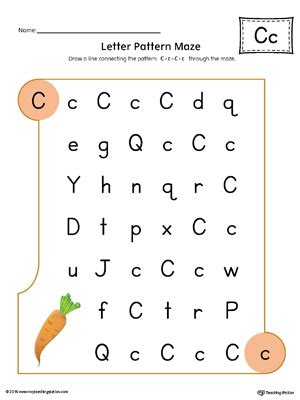 colors starting with c say and trace letter c beginning sound words worksheet