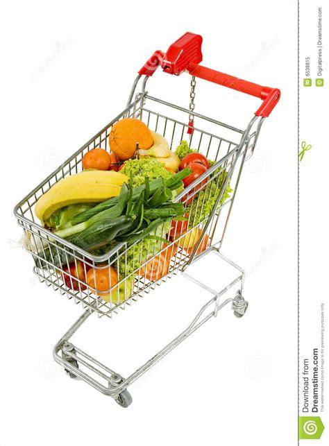 Supermarkt Wagen Lizenzfreies Stockfoto Bild 6538815