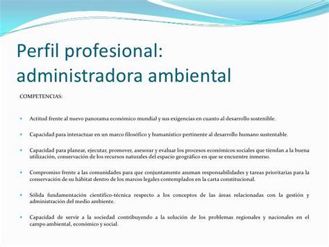 abhijit de perfil profesional perfil profesional administrador ambiental