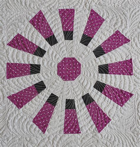 Dresden Fan Quilt by Dresden Fan Plate Quilt Pattern Geta S Quilting Studio