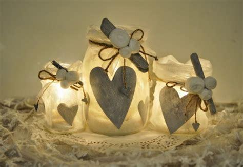 lanterne con candele riciclo creativo barattoli di vetro per regali di natale