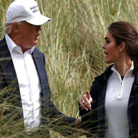hope hicks politics hope hicks and donald trump at the trump international