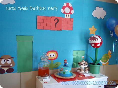 takes the cake mario birthday