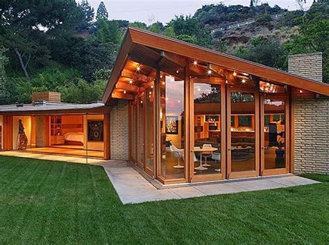 mid century modern homes design elegant glass oz visuals