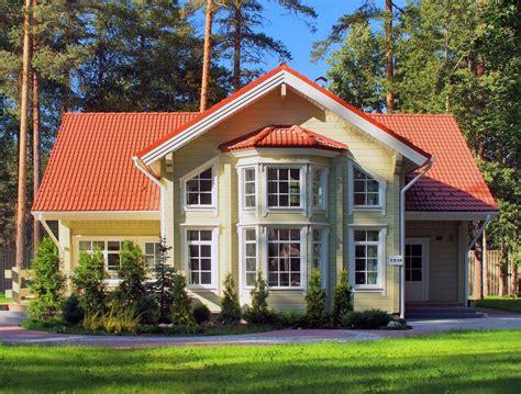 Maison En Bois Scandinave 4734 by Maison En Bois Scandinave En Madriers Contrecoll 233 S