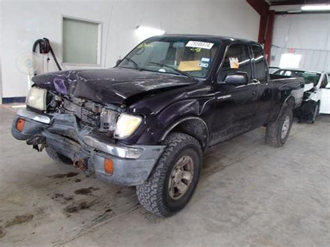 1998 Toyota Tacoma Parts 1998 Toyota Tacoma 4x4 Parts Front End Damage Engine Is