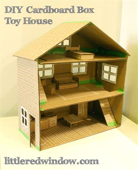 cardboard box house cardboard crafts that will blow you away the crazy craft lady