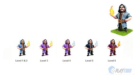 Coc Barbarian Lev 7 wizards clash of clans level 6 www imgkid the