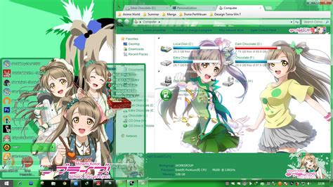 theme google love live minami kotori love live school idol project windows 7