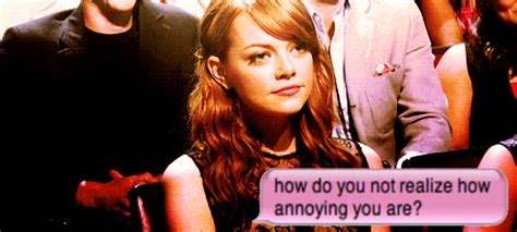 Annoyed Meme Tumblr - allons y bitches gif hunt emma stone