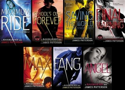maximum ride series the maximum ride series by patterson lou lou s library