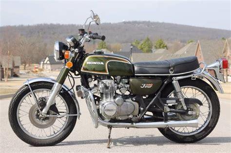 green with envy 1973 honda cb350f
